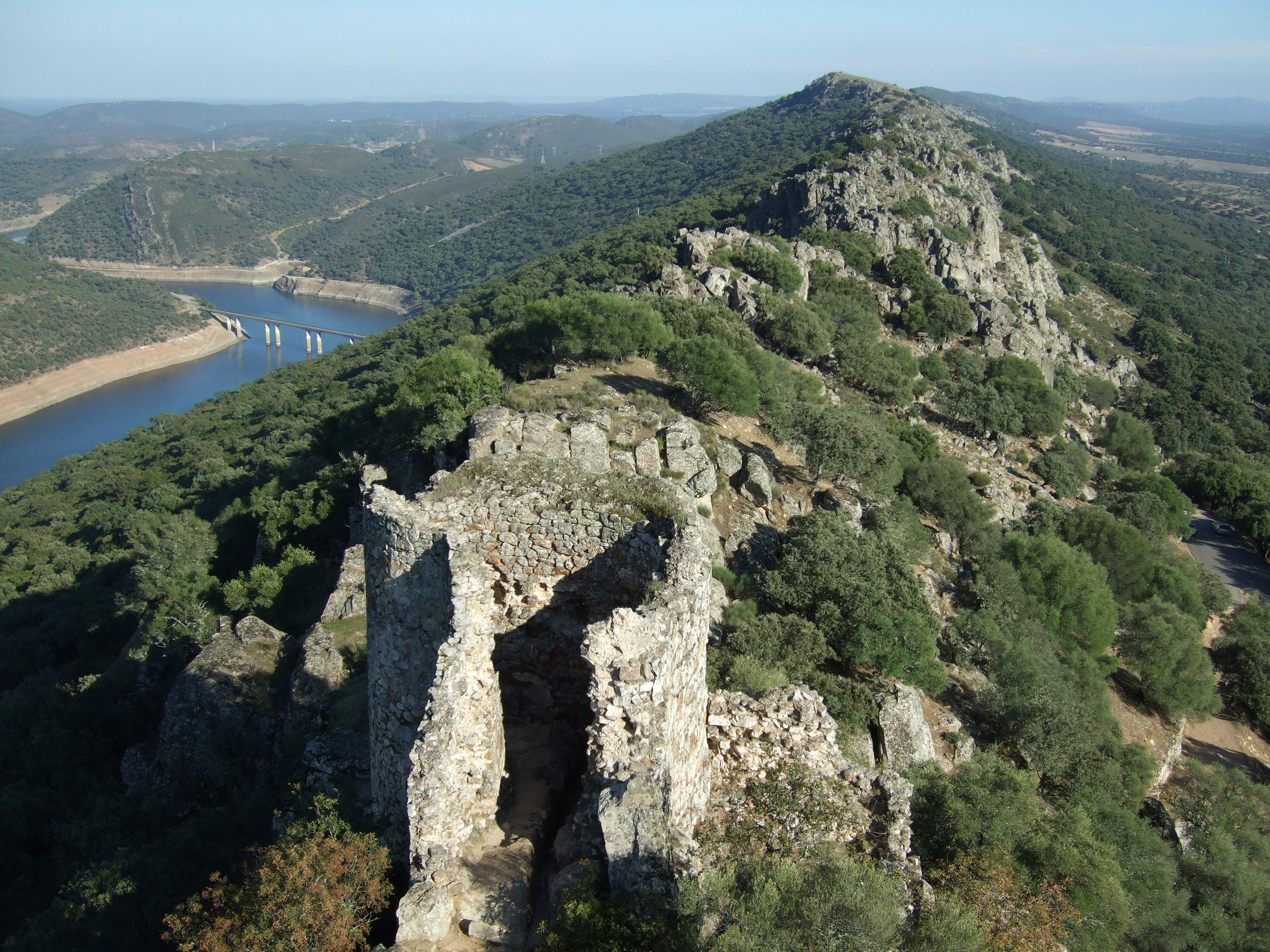 parques naturales Monfrague_desde_el_castillo
