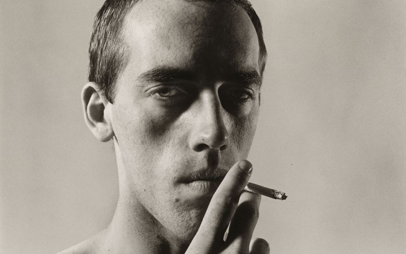 Hujar, Peter (1934-1987)  David Wojnarowicz, 1981, Collection of Ronay and Richard Menschel, Non-Morgan (L2016.66.8 )
