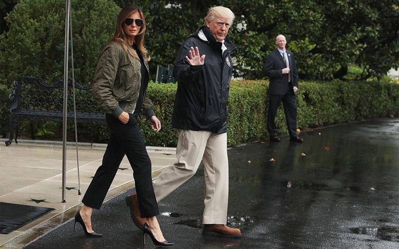 ¿A ella le importa? Melania Trump y sus polémicas elecciones estilísticas - image melania-vanidad4 on https://www.vanidad.es