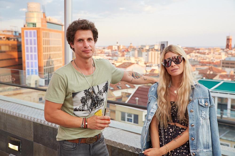 Cristina Tosio y su novio Álvaro Torralba