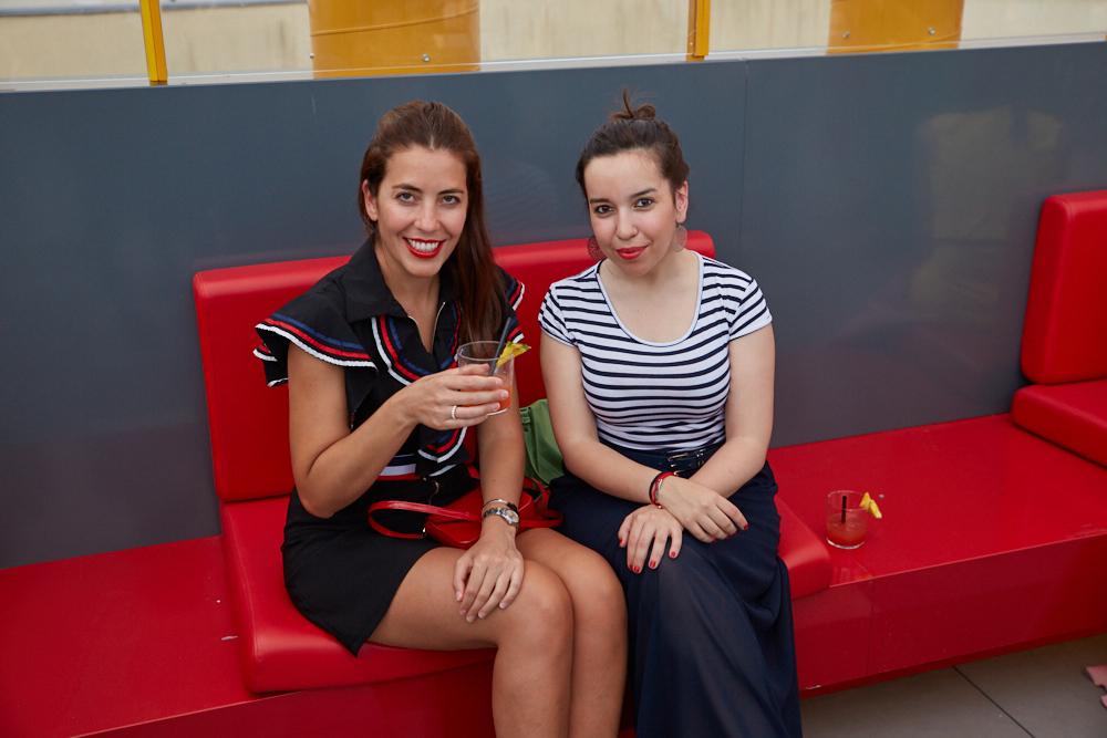 Carmen Afán y amiga