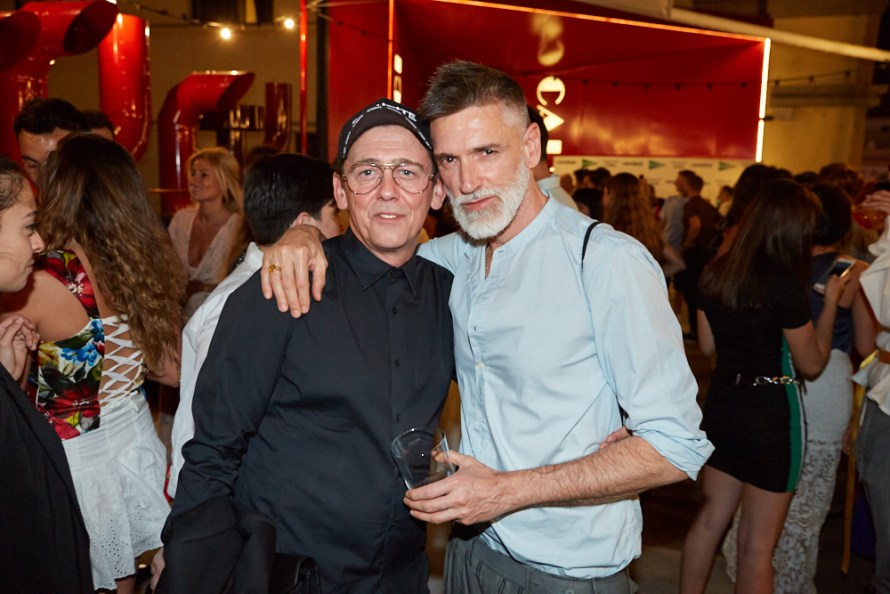 Los estilistas Fran Marto y Jose Carlos de la Osa