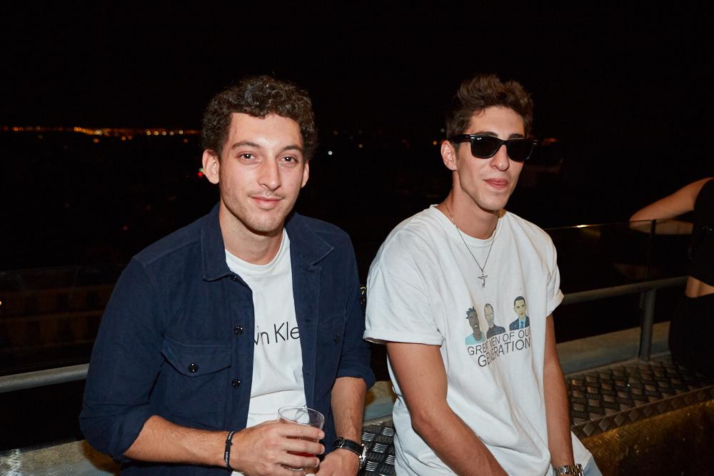 Lucas Antunez y amigo