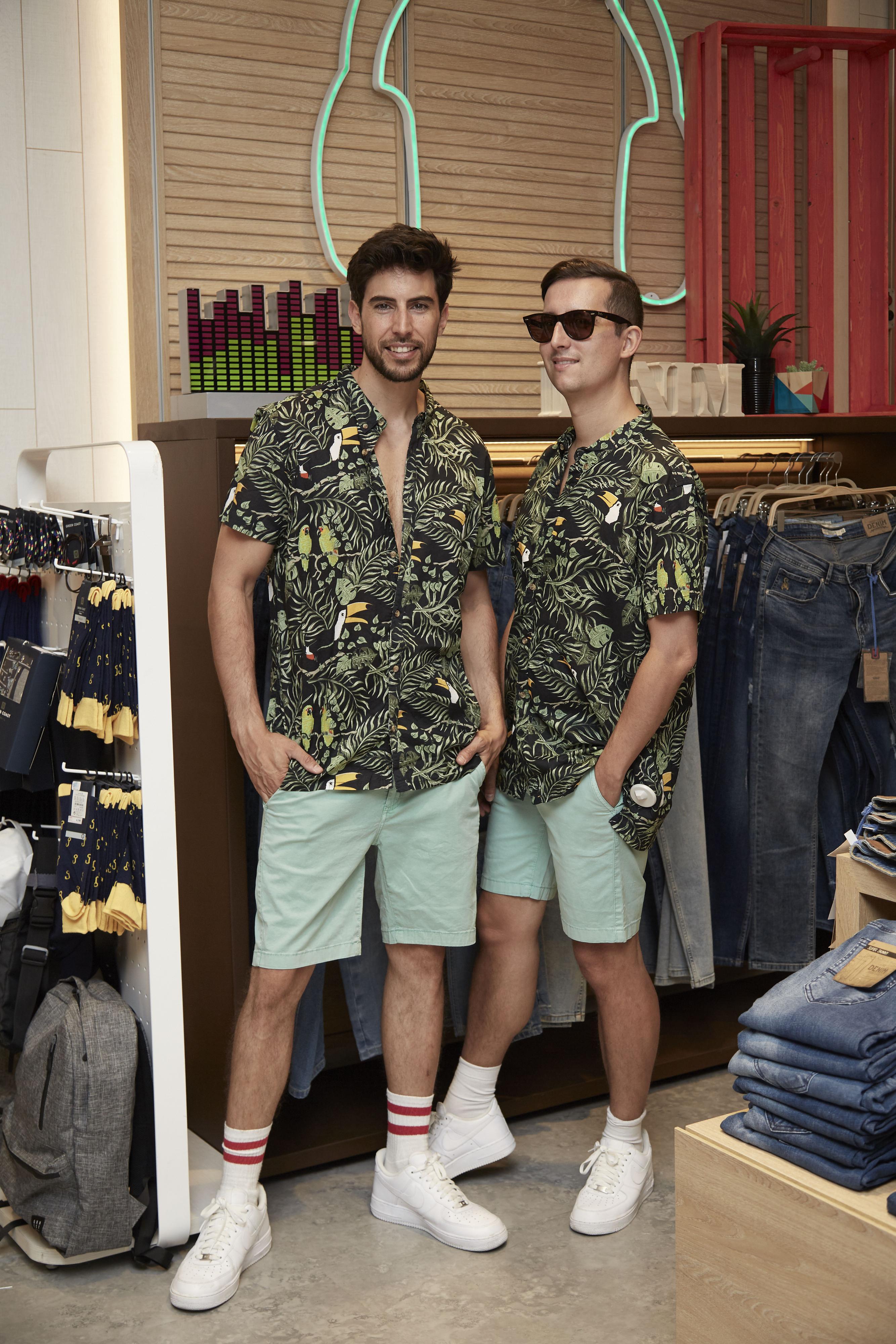Camisa de Green Coast y bermudas de Green Coast