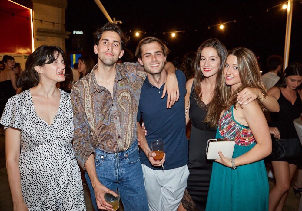 Carmen Cocina, Alberto Herrero, Alejandro Bernad, Anna Alarcón y Alba Peñuelas