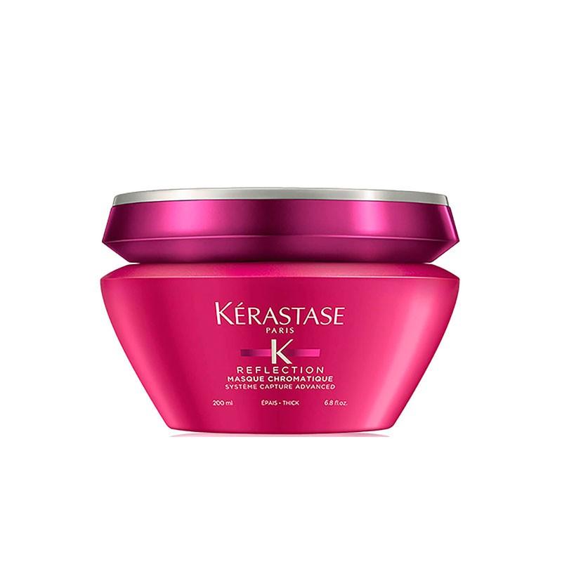 Tutorial Belleza: Cómo conseguir un pelo rosa impecable paso a paso - image kerastase-reflection-masque-chromatique-gruesos-200ml on https://www.vanidad.es